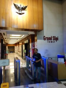 Grand Slipi Tower.access control.entrance control.Jalur Masuk.SBTl.Flap Barrier (2)
