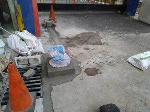 Parking gate BPKP Matraman (2)